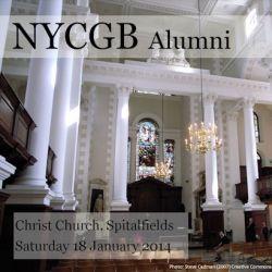 NYCGB Alumni—Spitalfields, London
