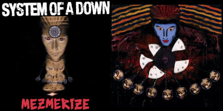 System of a Down album covers