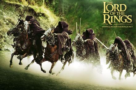 The Ringwraiths from The Lord of the Rings