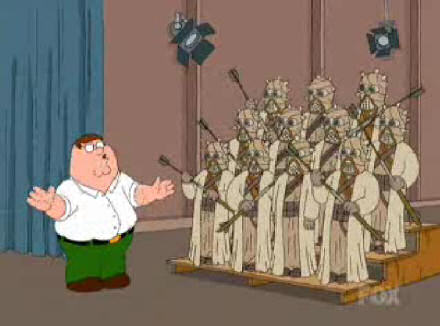 Conducting the Sand People Choir