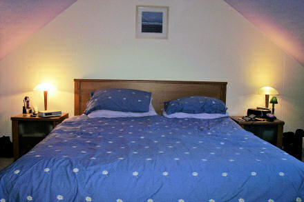 Our kingsize bed