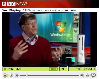 Bill Gates on BBC News online