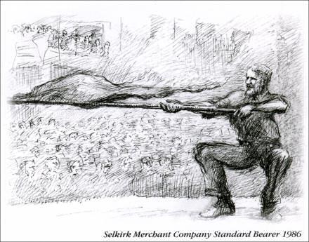 Sketch of Ian W. Mitchell