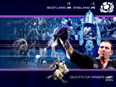 Scottish Rugby Union Calcutta Cup winners image