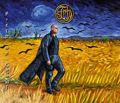Album artwork for Field of Crows, by Fish. Showing fish walking through a field.