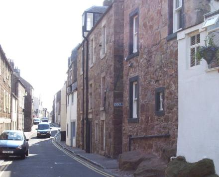 Photograph looking down George Street in Cellardyke