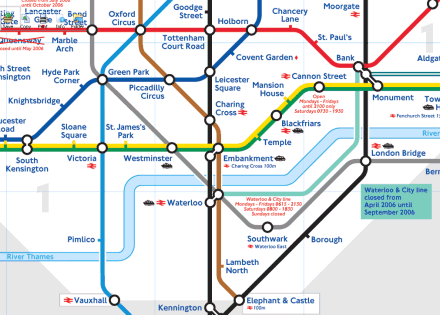 London underground map