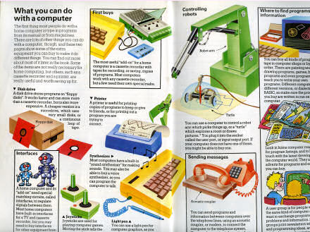 Scan of a book called Practical Things To Do with a Microcomputer