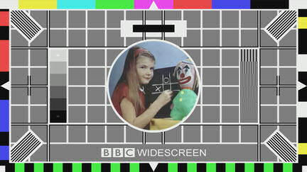 BBC Widescreen testcard image.
