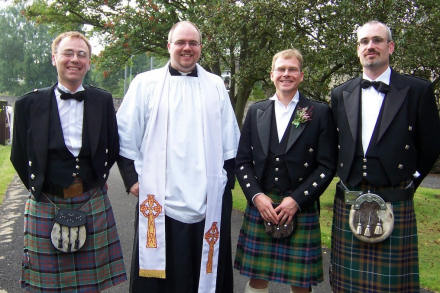 Alasdair Allan, Gareth Saunders, David Watson and Warren Bumpsteed