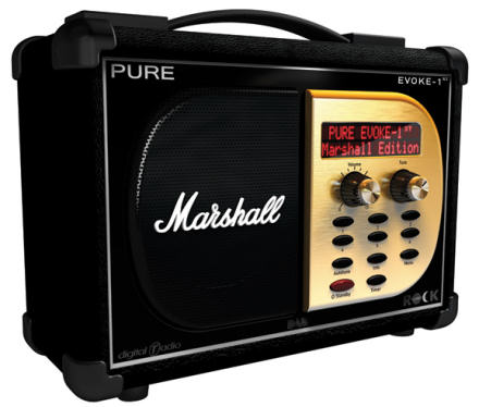 Pure Marshall DAB radio