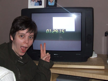 Jane correctly predicts the time for 24 a second time.