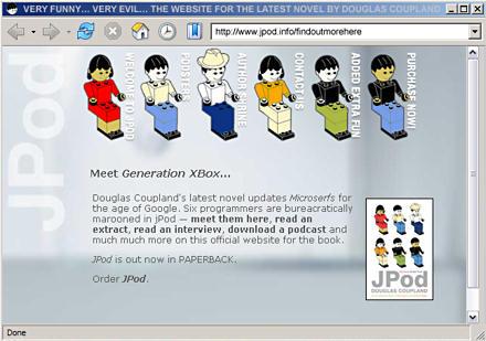 JPod - Meet Generation XBox
