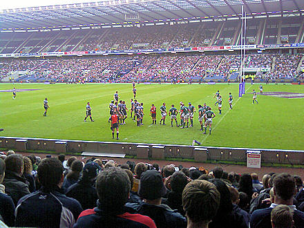 Scotland v Ireland at Murrayfield