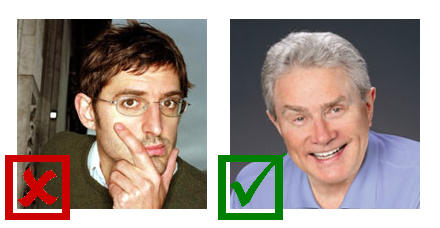 Louis Theroux and Luis Palau