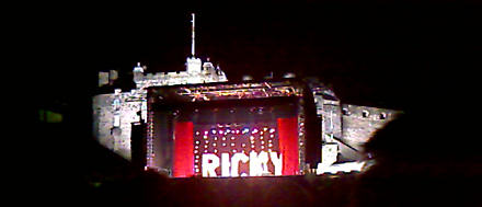 Ricky Gervais at Edinburgh Castle