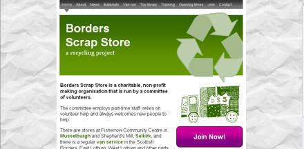 Borders Scrap Store