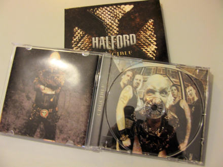 empty Halford CD case