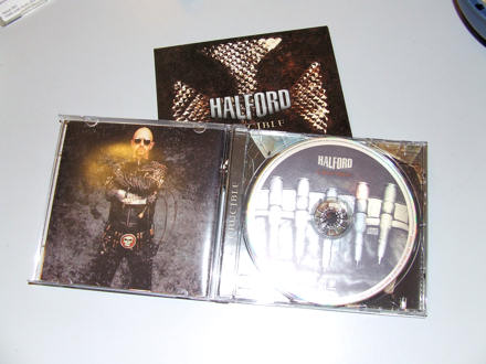 Halford CD in case