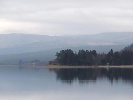 Scene on a loch