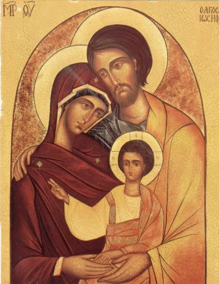 The Holy Family: Mary, Joseph and Jesus