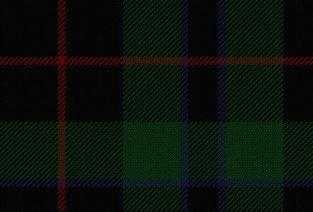 Black Douglas tartan