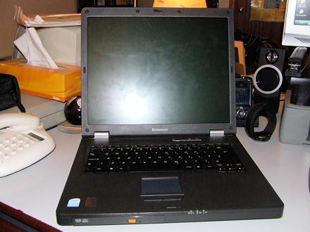 Laptop - front