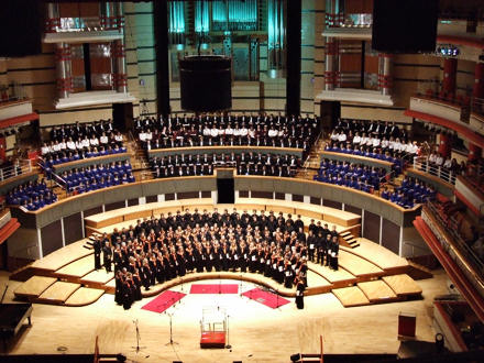 Concert in the Birmingham Symphony Hall