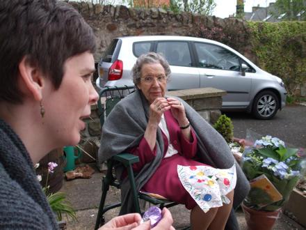 Jane with Grandma