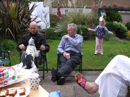 Martin, Peter and Skye