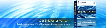 CSS Menu Writer