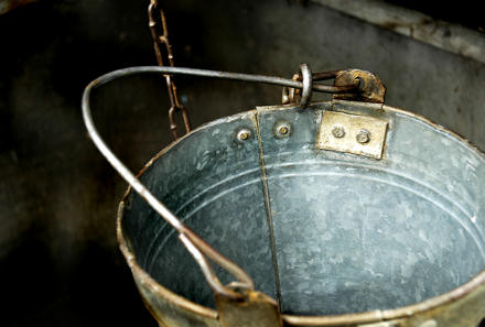 Bucket in a well