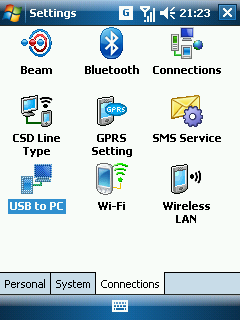 Windows Mobile 6 Settings