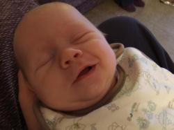 Joshua smiling