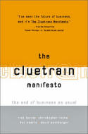 Book cover for The Cluetrain Manifesto