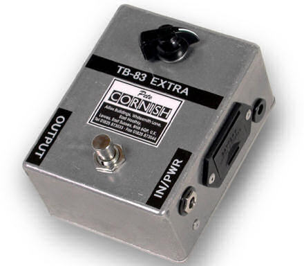 Pete Cornish TB-83 Treble Boost guitar pedal