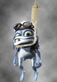 Crazy Frog Hanged