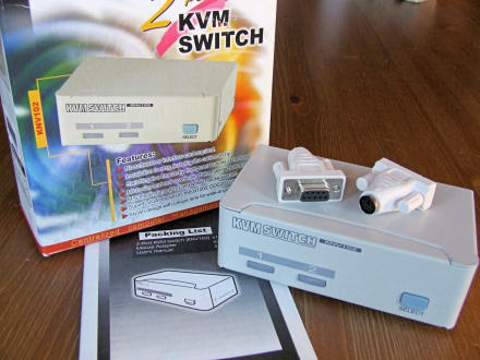 2-port KVM Switch