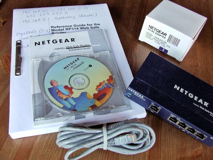Netgear RP114 Web Safe Router