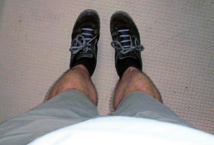 Gareth\'s legs (self-portrait)