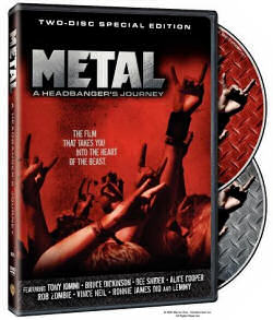 DVD cover for Metal: A Headbanger's Journey
