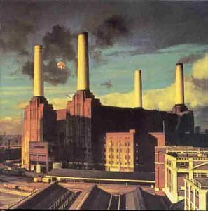 Pink Floyd cover for Animals shows Battersea Power Station