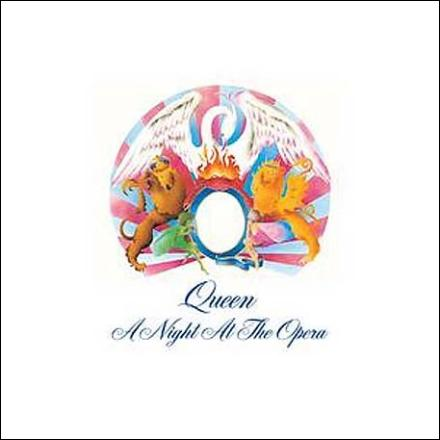 CD cover for Queen\'s A Night at the Opera