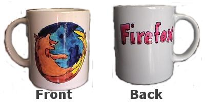 Firefox Mug (Homemade)