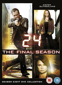 24 season 8 on DVD