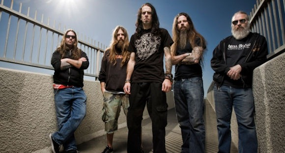 Lamb of God: Willie Adler, Mark Morton, D. Randall Blythe, Chris Adler, John Campbell