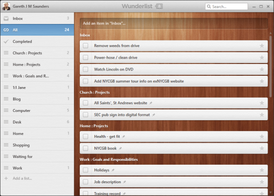 Wunderlist—a beautiful and simple to-do list