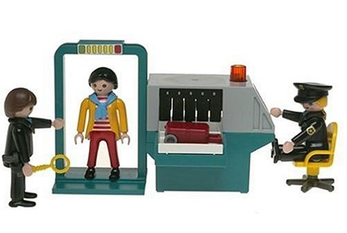 Playmobil City Life airport security check-in