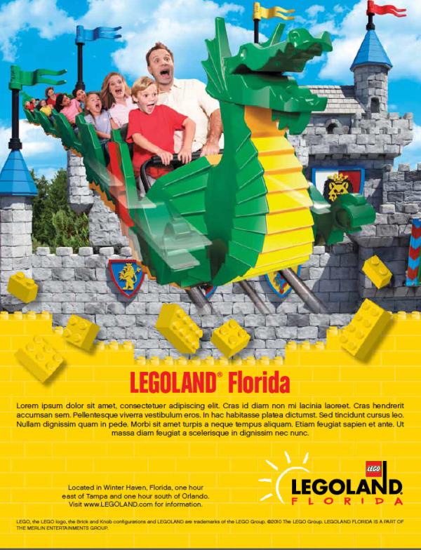 LEGOLAND Florida style guide
