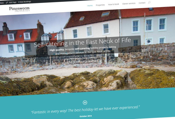 Pittenweem Properties: self-catering in the East Neuk of Fife